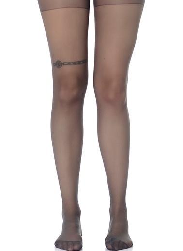 Dagi Mat Külotlu Kadın Çorap Antrasit